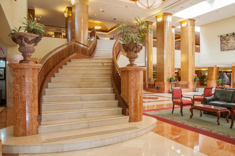Barceló lobby has an elegant stairway