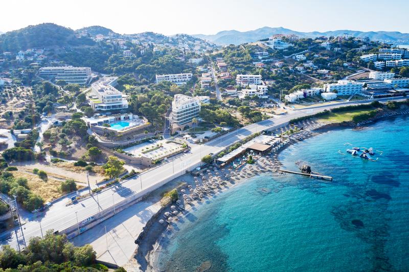 EverEden Beach Resort overhead view