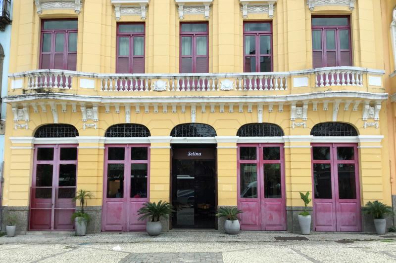 Selina Lapa Rio de Janeiro step free entrance with refurbished exterior