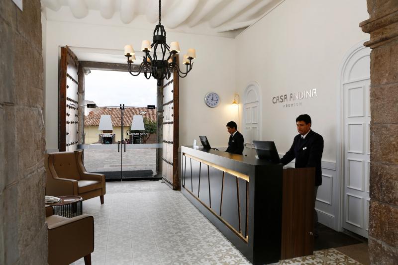 Casa Andina Premium entryway and lobby