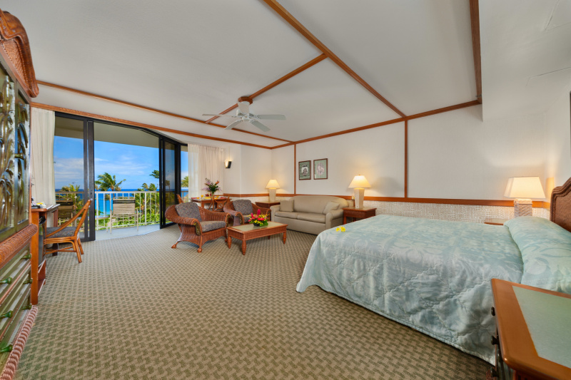Junior suite accessible room with king bed