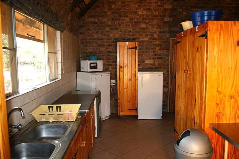 Tshukudu Bush Camp shared kitchen