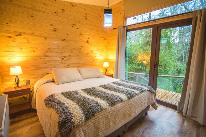 Bedroom at Cabañas Bosques de Loncotraro