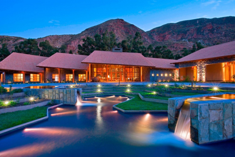 The hotel is set in the heart of the Sacred Valley