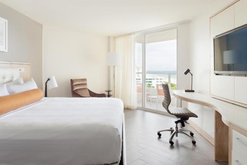 A guest room