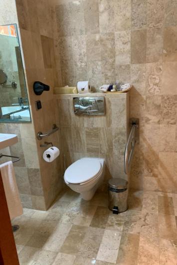 A guest bathroom