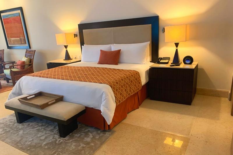 A guest room at Grand Velas Riviera Maya