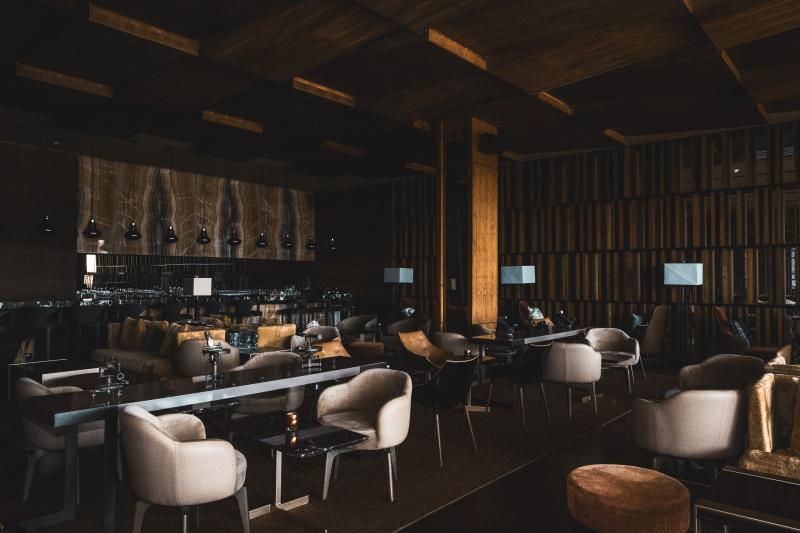 One of the resort restaurants
