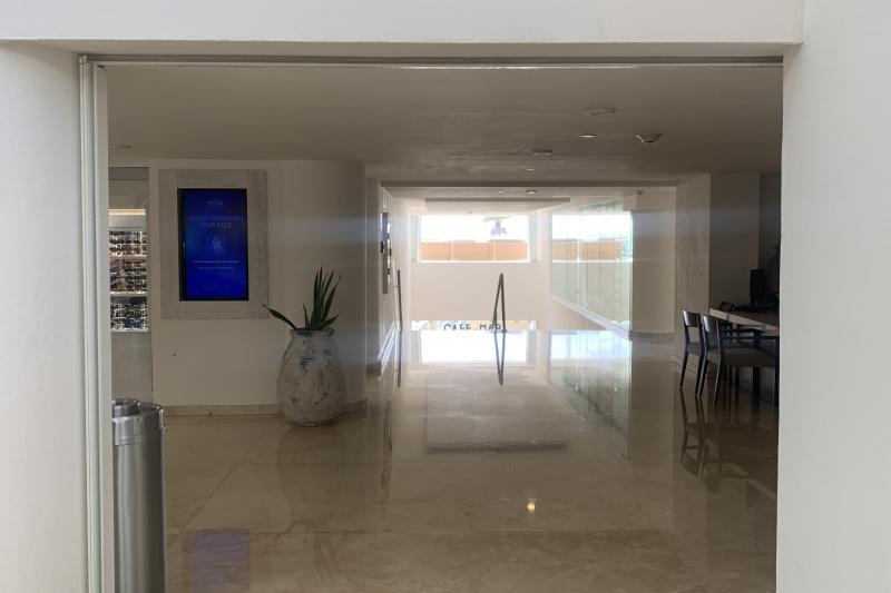 Entrance of the lobby