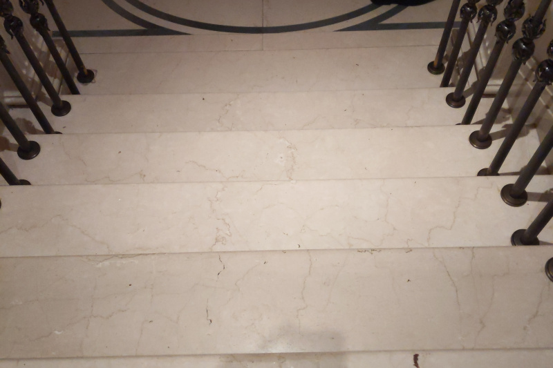 Lobby stairway