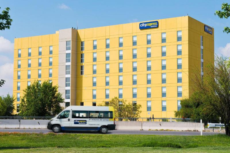 Hotel facade.