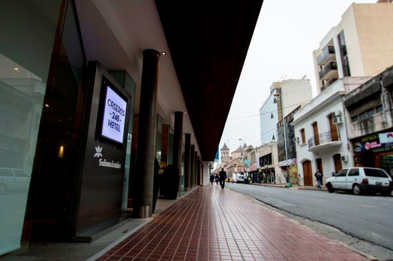 Step-free entrance