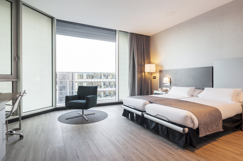An accessible guest room