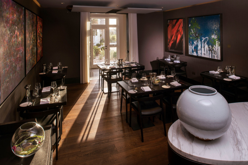 Blas restaurant at Twr Felin Hotel