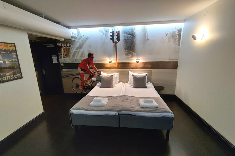 Standard twin / accessible room
