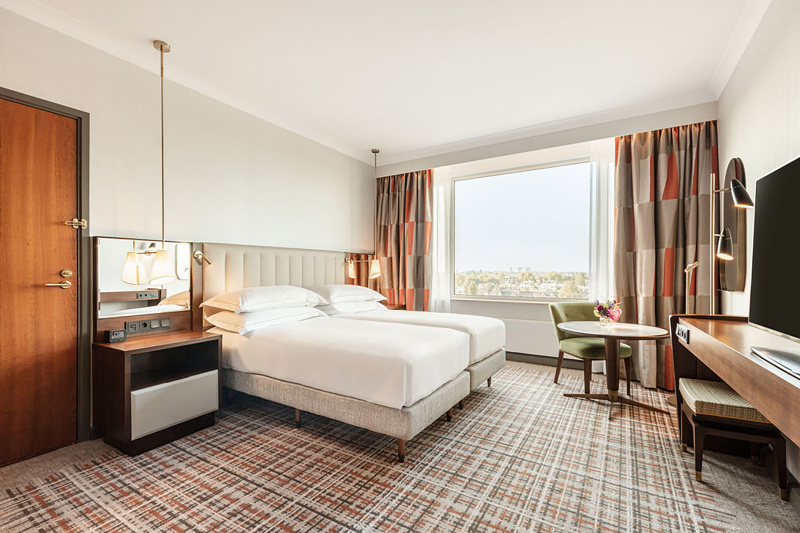 Accessible twin deluxe room