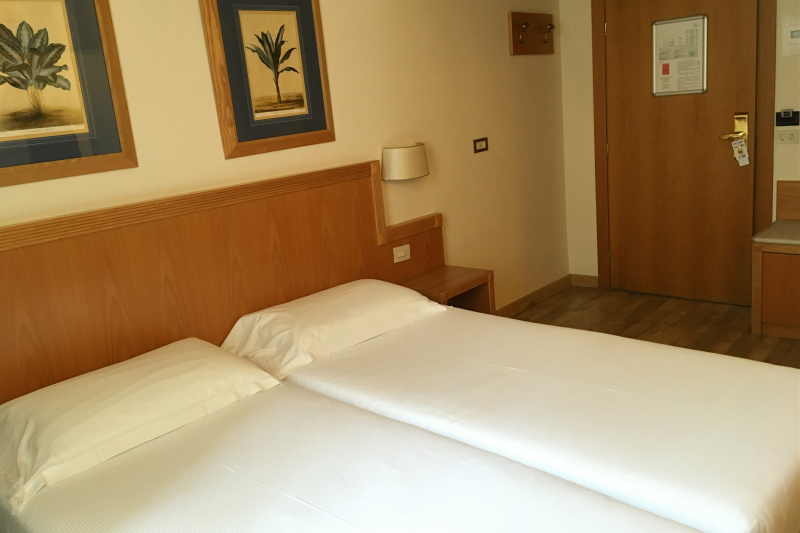 Accessible standard double/twin room