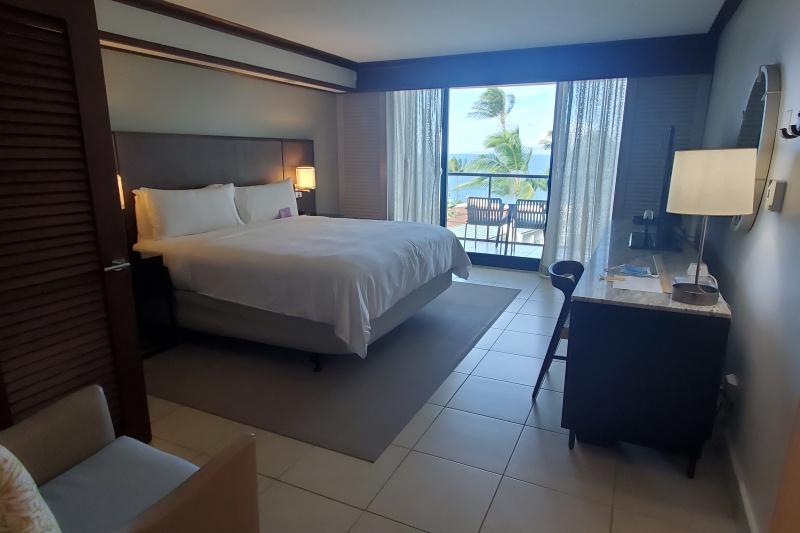 Premium ocean view room with shower