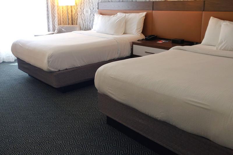 Accessible double queen room