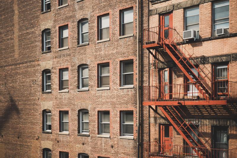 A typical Manhattan building