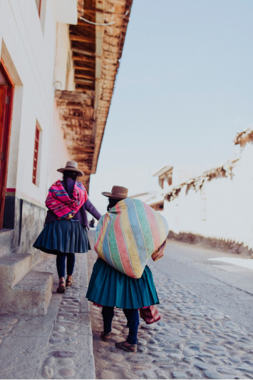 Streets in the Sacred Valley