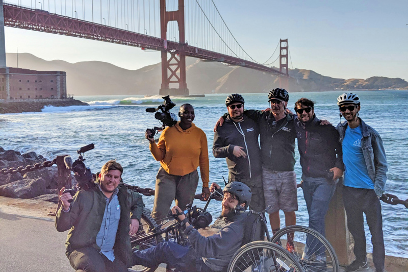 Golden Gate Bridge Guided Handbike Tour