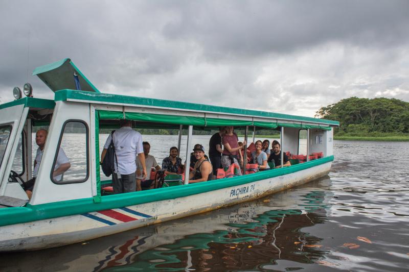 Boat tranfer to Tortuguero