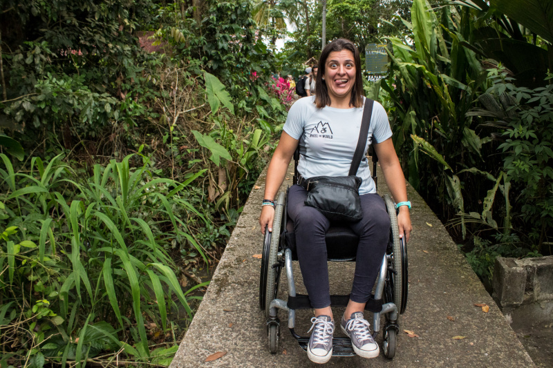 All paths on this hike are accessible in a wheelchair