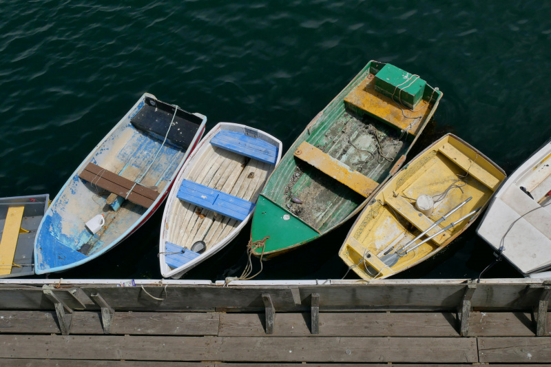 Monterey fishing boats