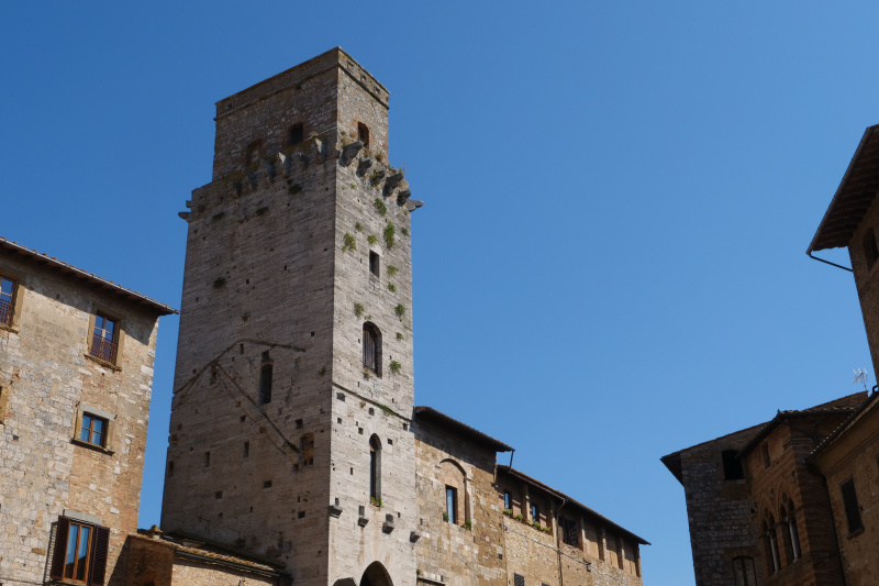 View of some of San Gimignano's historic buildings