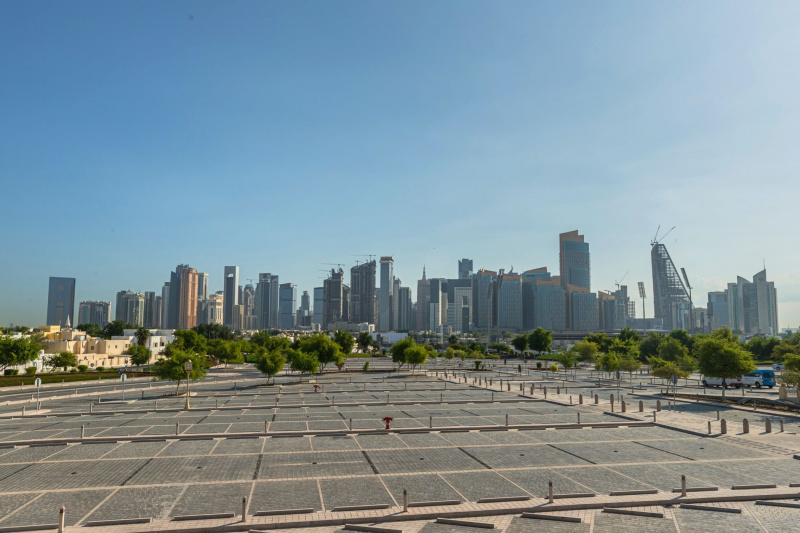 The view from the State Grand Mosque