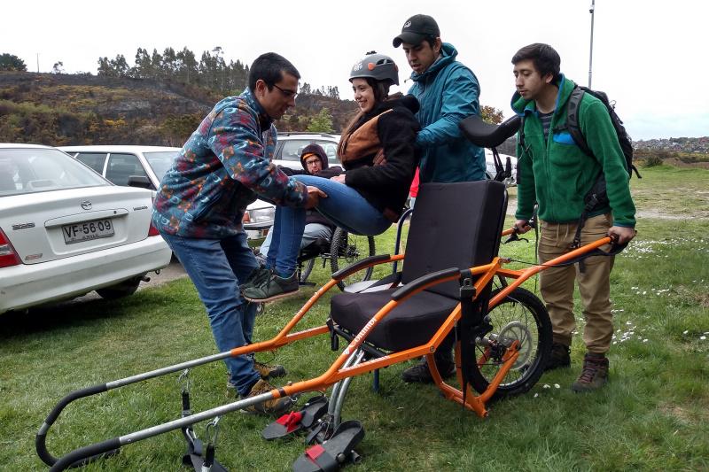 Trek Paso Desolacion Volcan Osorno-Joellette