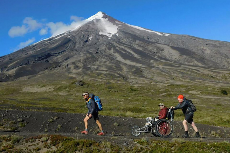 Trek Paso Desolacion Volcan Osorno
