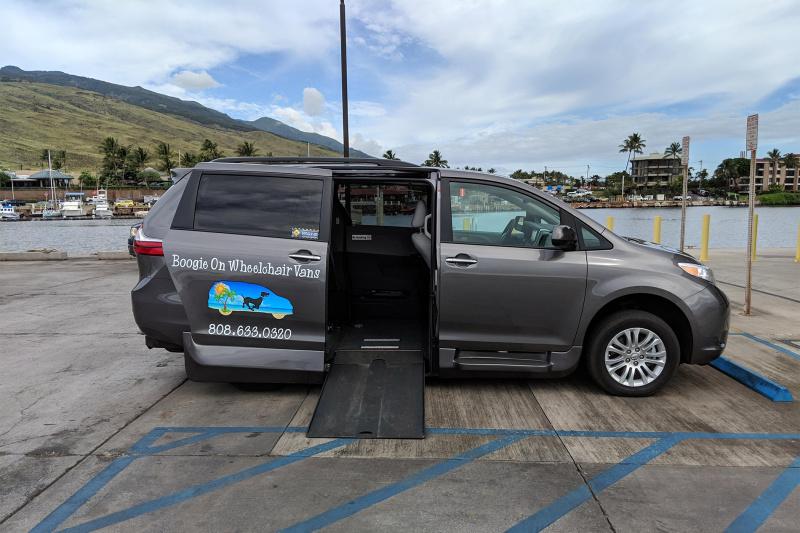 Accessible car rental per day