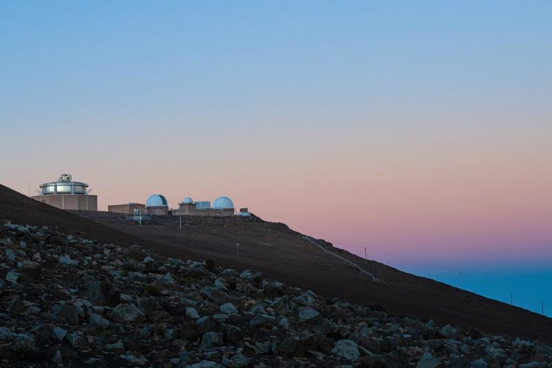 Sunrise at Haleakala Volcano