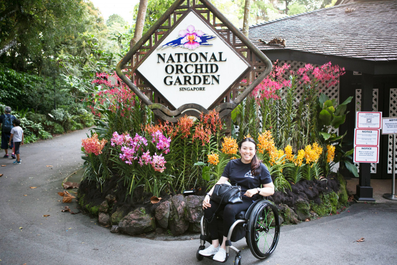 Entrance to the National Orchid Garden