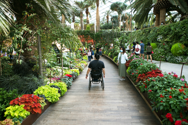Accessible paths