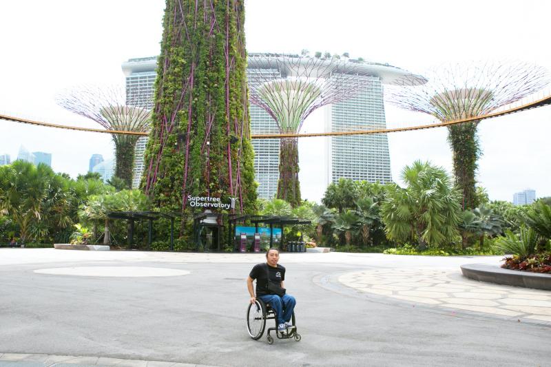 Gardens are wheelchair accessible