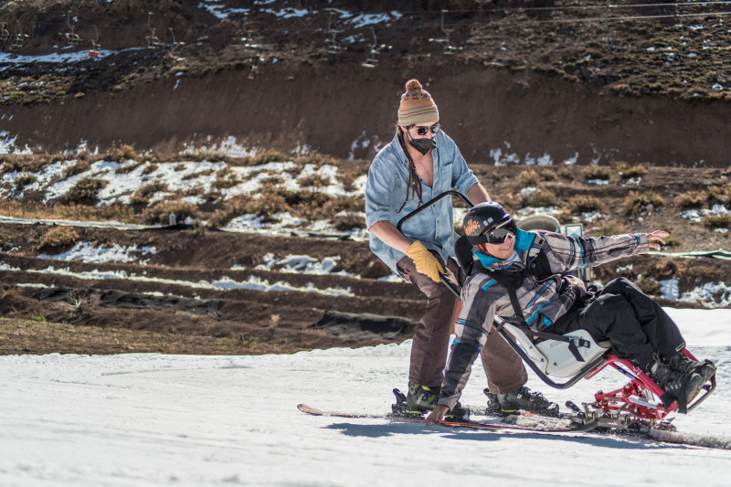 Adaptive ski classes
