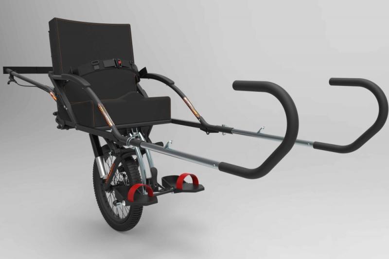 Joëlette wheelchair