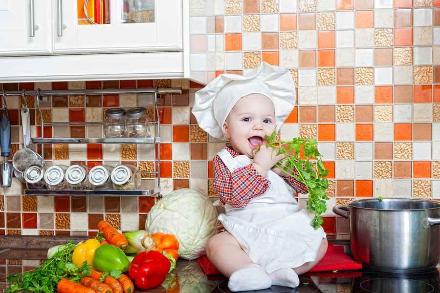 Tip om je baby groente te leren eten