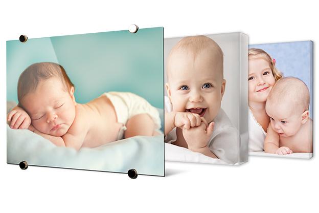Win jouw mooiste babyfoto in het groot aan de muur