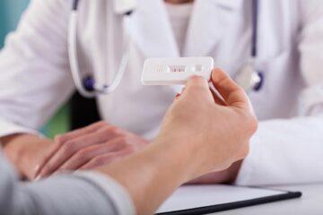 Een zwangerschapstest meet de hCG waarden