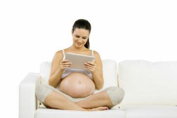 wachten op bevalling
