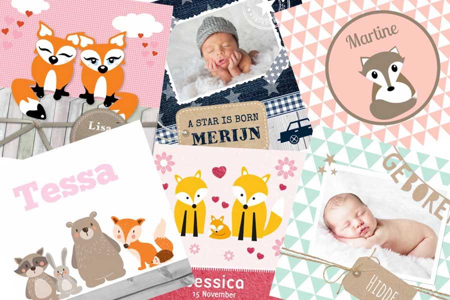 Zoektocht naar het perfecte geboortekaartje - Kaartje2go