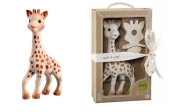 Sophie de Giraf als kraamcadeautje