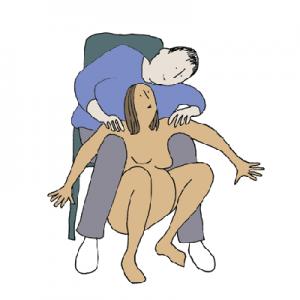 Bevallingshoudingen: de hurkzit