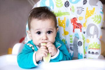 Je baby kan finger foods eten