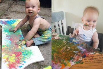 jonge kunstenaars