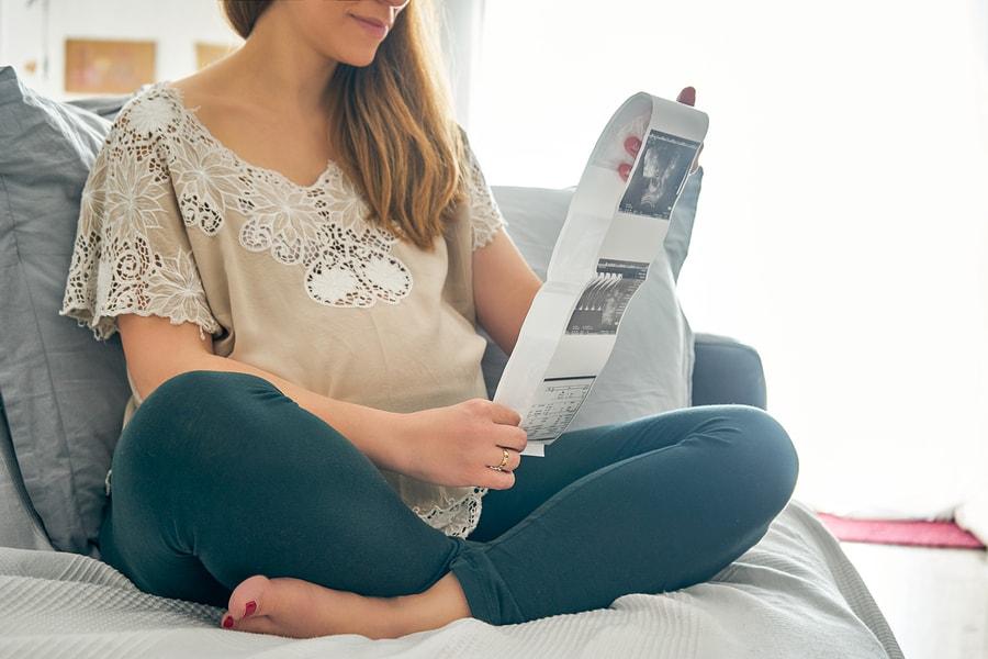 Vrouw van 4 maanden zwanger heeft een geslachtbepaling met een pretecho gedaan